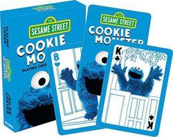Aquarius Sesame Street Cookie Monster Playing Cards