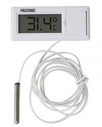 H-B DURAC Calibrated Electronic Thermometer with Waterproof Sensor; -50/200C (-58/392F) (B60900-2700)