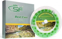 (Spring Green, WF3F100FT) - SF Weight Forward Floating Fly Fishing Line Welded Loop WF 1 2 3 4 5 6 7 8 9 wt