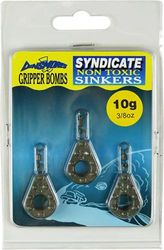 Dinsmores Gripper Bomb Syndicate Non-Toxic Sinker - Brown, 10 g