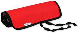 Travel Baby Changing MAT Portable Folding Waterproof 8 Colours to Choose New (Red)