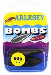 Dinsmores Non Toxic Arlesey Bomb Sinker - Black, 60 g