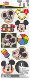 EK SUCCESS/AMERICAN CRAFTS Disney LG Flat STCKR BDG, Mickey Head Badges