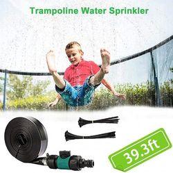 MaikcQ Trampoline Sprinklers for Kids, Outdoor Water Sprinkler Fun Water Park Summer Toys Game Trampoline Accessories (12m)