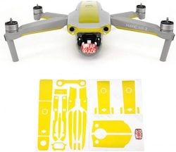 (LIMONCINO YELLOW) - Wrapgrade Skin compatible with Mavic Air 2 | Accent Colour B (LIMONCINO YELLOW)