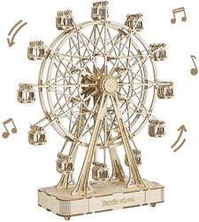 Rowood 3D Wooden Puzzles for Adults, Building Crafts Toy Gift for Adult & Teens - Ferris Wheel (232 PCS)