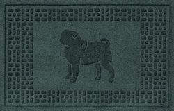 (5.1cm x 7.6cm , Evergreen) - AquaShield Pug Mat