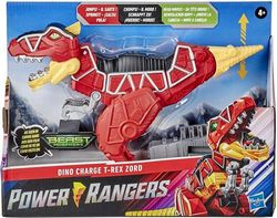 Power Rangers Dino Charge T-Rex Zord Toy Inspired by Special Beast Morphers Episode Red Action Figure Jumps Chomps Head Moves for Kids Ages 4 and Up ()