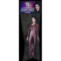 Donna Troi 18cm Exclusive figure 2006 Diamond Retailer Summit Star Trek Next Generation RARE