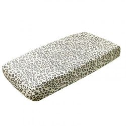 """(Zara) - Premium Knit Nappy Changing Pad Cover""""Zara"""" by Copper Pearl"""