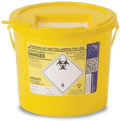 (7 Litre Sharps Bin) - Reliance Medical 7 Litre Sharps Container
