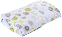 Summer Ultra Plush Changing Pad Cover, Blue Swirl