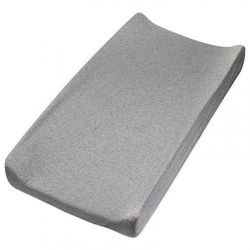(One Size, Gray Heather) - HonestBaby Organic Cotton Changing Pad Cover, Grey Heather, One Size