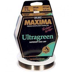 (8-Pound/220-Yard) - Maxima Fishing Line One Shot Spools, Ultragreen