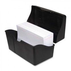 Advantus Corp. AVT45003 Index Card Holders- 13cm .x20cm .- Black