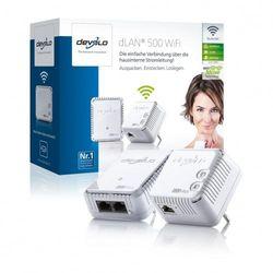(White, Twin pack) - Devolo 500 Wifi Starter Kit.