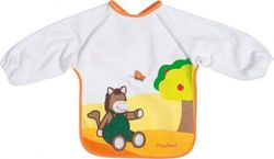 Playshoes 507197-625 Bib with Sleeves 'Horse' with Foil Underlay