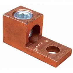One Conductor Extruded Copper Connector with 6-14 Wire