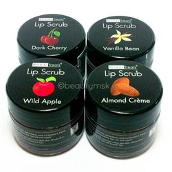Lip Scrub With Antioxidants and Vitamin E 4 pcs Set All 4 Different Flavours