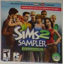 The Sims 2 Sampler, Create-a-sim, Sample the Sims2