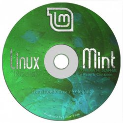 Linux Mint 14 DVD - Includes both 32-bit and 64-bit, and both MATE and Cinnamon! [Special Edition]