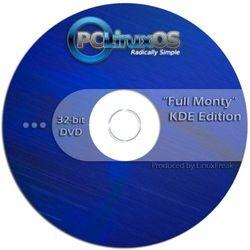 """PCLinuxOS 5110cm Full Monty"""" KDE Desktop Edition [ 32-bit DVD ]"""