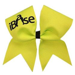 (Neon Yellow) - Chosen Bows New iBase Cheer Bow