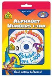 School Zone Flash Action Alphabet/Numbers 1-100 (PC & Mac)
