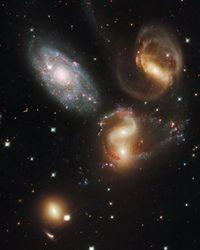Hubble Space Telescope Poster Photo Stephan's Quintet NASA Posters Photos 11x14