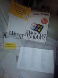Microsoft Windows Os 3.1 5.25 Floppy
