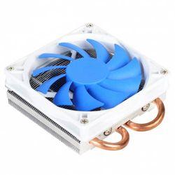 (2 Heat Pipes (AR05)) - Silverstone Tek Low-Profile Heatsink CPU Cooler with 92mm PWM Fan, Two 6mm Heat Pipes, Intel LGA1155/1156/1150 and AMD AM2/AM3/FM1/FM2 AR05