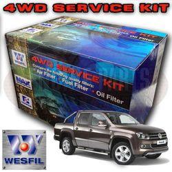 Wesfil Air/Oil/Fuel Filter Service Kit For VW Amarok 2 0L TDi
