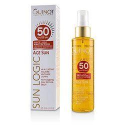 GUINOT - Sun Logic Age Sun Anti-Ageing Sun Dry Oil For Body SPF 50