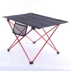 Camping Table Folding Outdoor Hiking Picnic Table With Bag 73x55cm