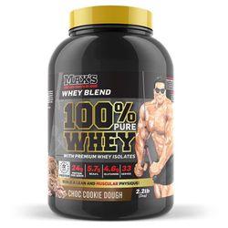 Max's 100% Whey Protein Powder 2.2lb