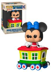 Funko POP! Disneyland 65th Anniversary 06 Minnie Mouse (Casey Jr Circus Train)