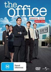 The Office An American Workplace Season 4 Part One DVD Region 4