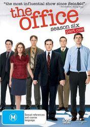 The Office An American Workplace Season 6 Part One DVD Region 4