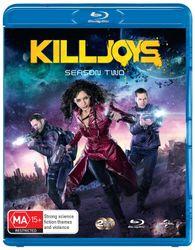 Killjoys Season 2 Blu-ray Region B