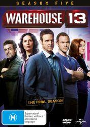 Warehouse 13 Season 5 DVD Region 4