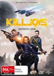 Killjoys Season 1 DVD Region 4