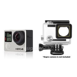 Waterproof Diving Protective Housing Clear Case For GoPro Hero 4 3+ 3 Go Pro