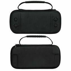 For Nintendo Switch Lite Case Hard Cover Protective Carry Travel Console Bag EVA-Black