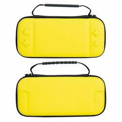 For Nintendo Switch Lite Case Hard Cover Protective Carry Travel Console Bag EVA-Yellow