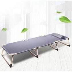 Portable Foldable Bedding Recliner Mattress Camping Mat Single Folding Bed ACB - folding bed
