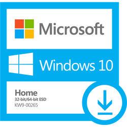 Microsoft Windows 10 Home 32bit/64bit - Digital ESD Download