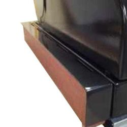 Bracket for Discovery 1100 built-in barbecue, powder coated
