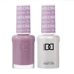 DND 605 Dovetail Duo Set Soak off Gel & Matching Nail Polish