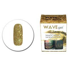 Wave Gel Polish UV LED & Nail Lacquer Enamel Duo 065 WCG65 Pear Me Up 15ml