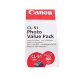 Canon CL51VP ink cartridge 1 pc(s) Original High (XL) Yield Cyan, Magenta, Yellow